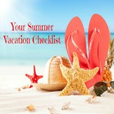 Summer Vacation Checklist - blog post