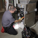 Furnace Repair by our Technician Tim