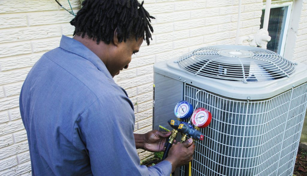 Air Conditioning Service and Repair Northwest Technician