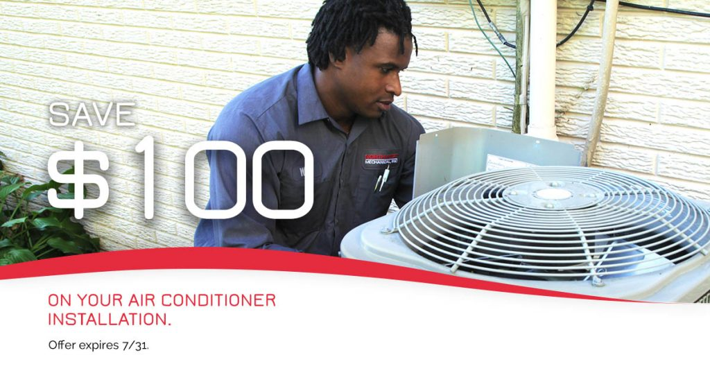 Air Conditioner Savings July 2020