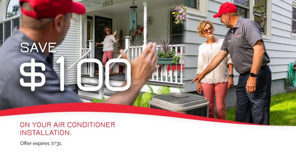 July 2021 Special Air Conditioning Installation